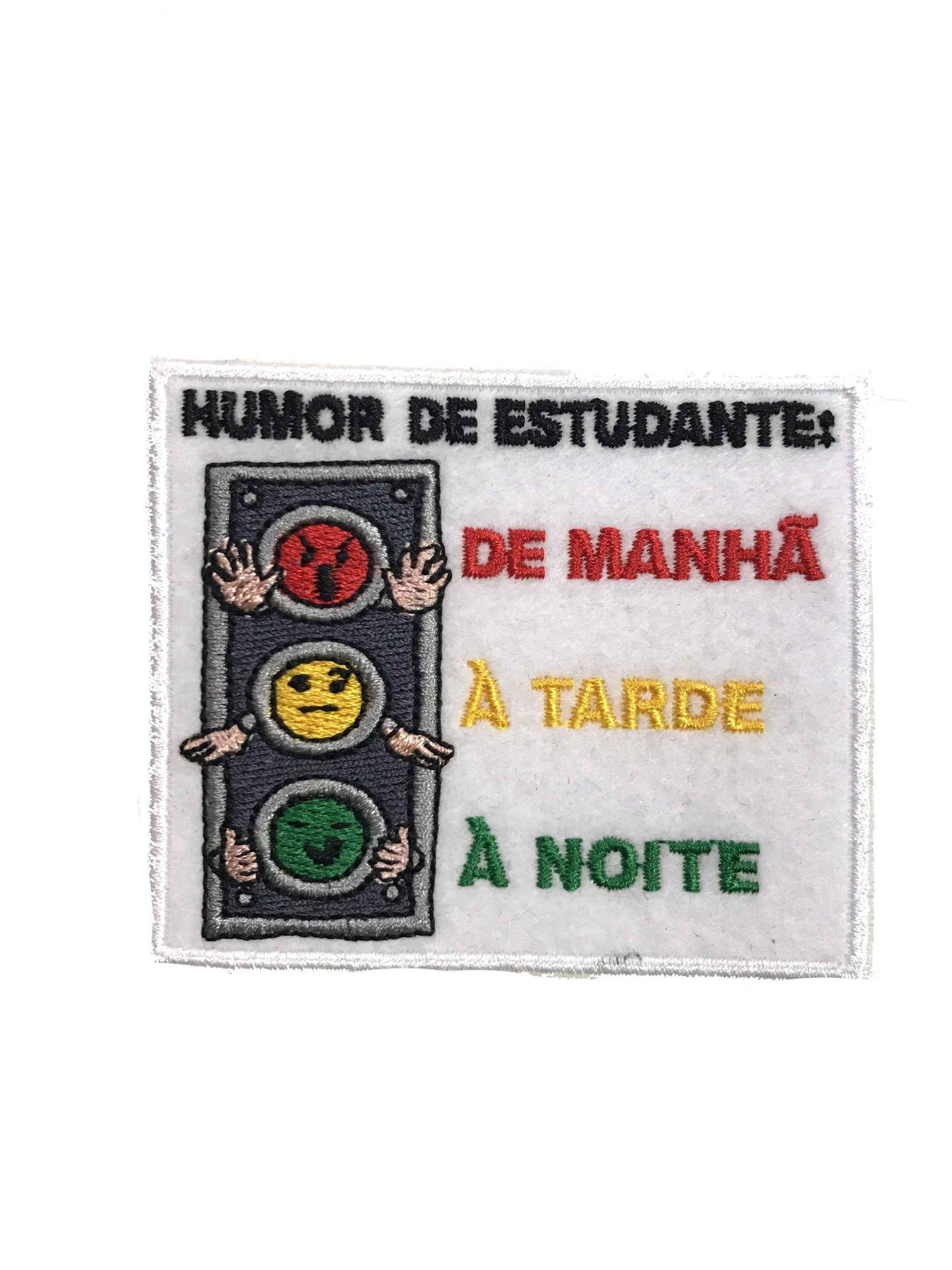 Emblema Humor de Estudante