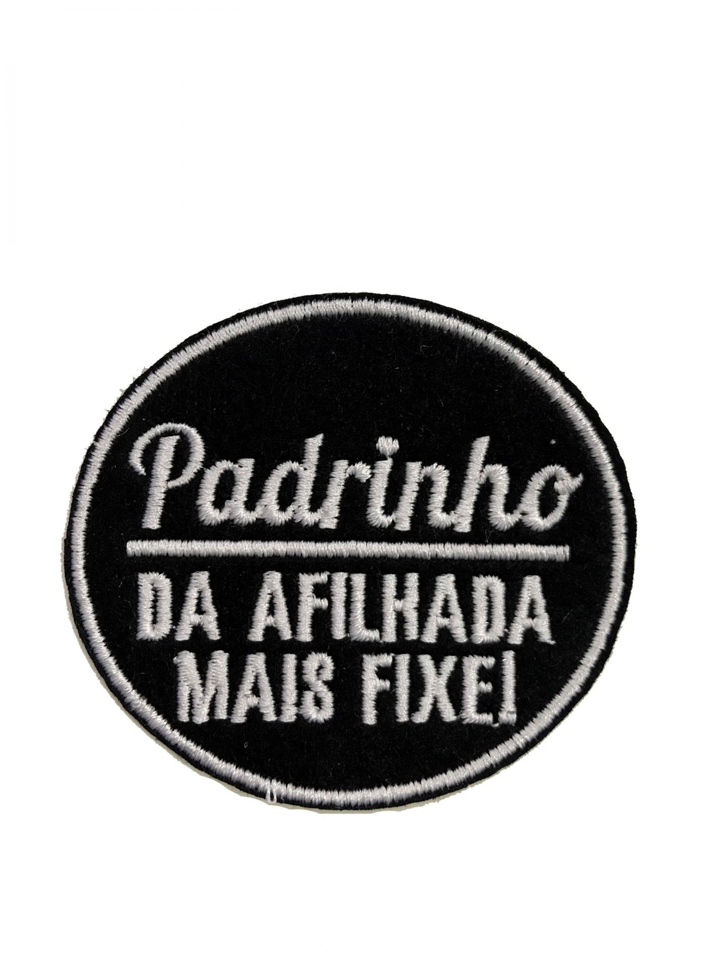 Emblema Padrinho - da afilhada mais fixe