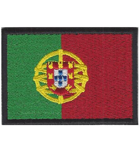 Emblema Bandeira Portugal 70x50mm