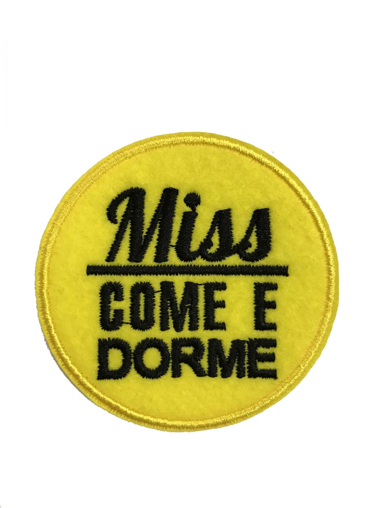 Emblema Miss Come e Dorme