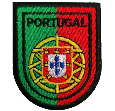 Emblema Brasão Portugal 75x60mm