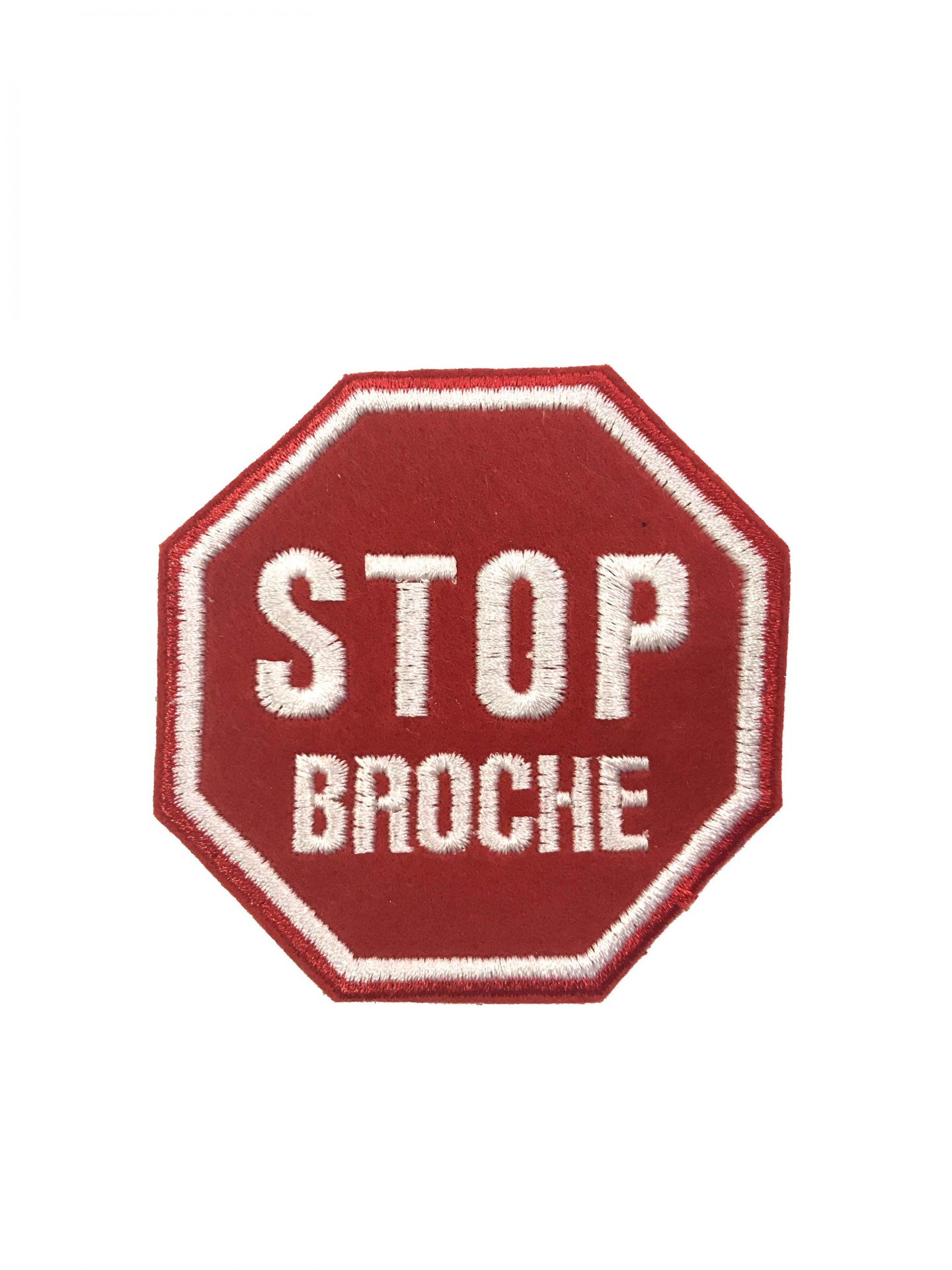 "Emblema ""STOP Broche"""