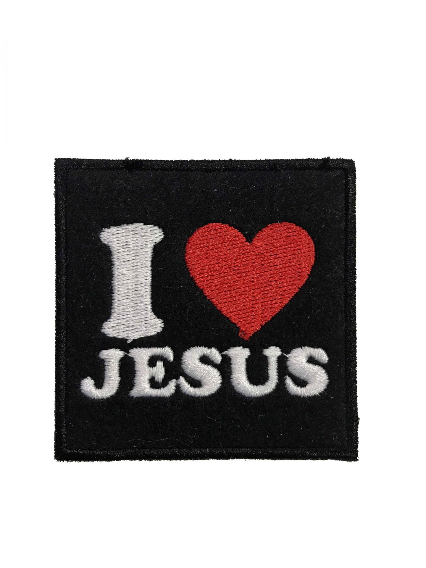 Emblema I love Jesus