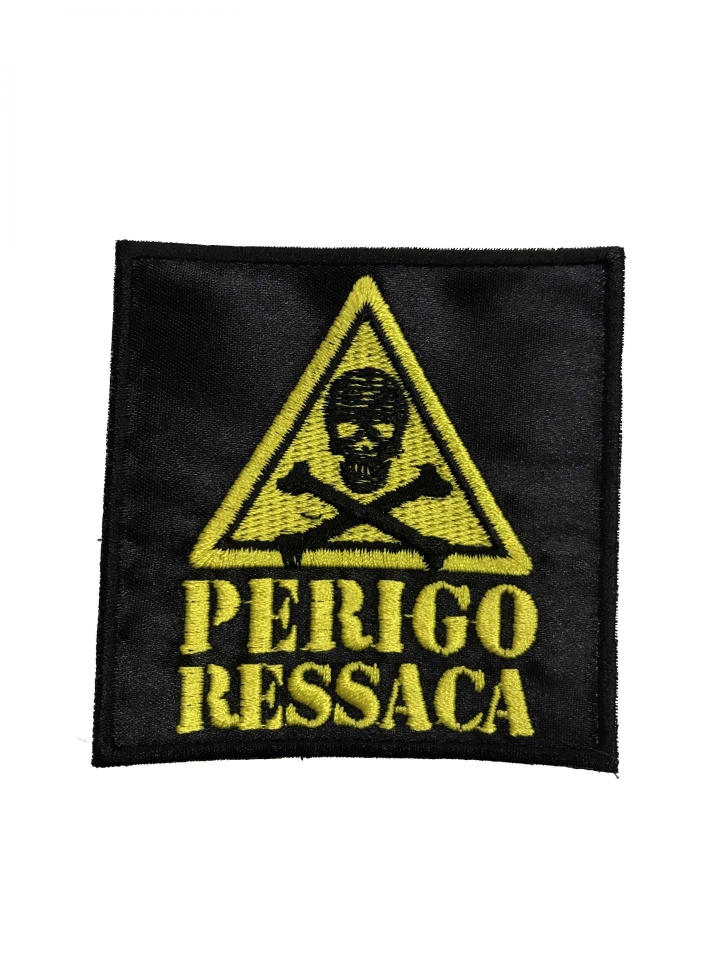 "Emblema ""Perigo Ressaca"""