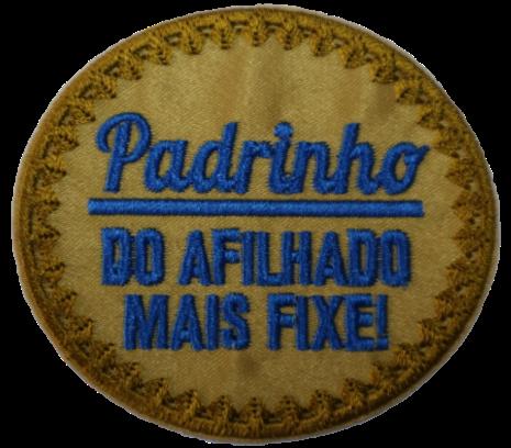 Emblema Padrinho Afilhado MF
