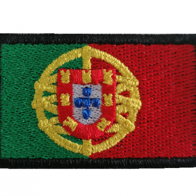 Emblema Bandeira Portugal 55x35mm