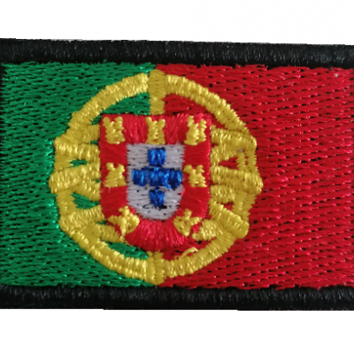 Emblema Bandeira Portugal 45x30mm