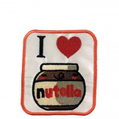 "Emblema ""I love Nutella"""