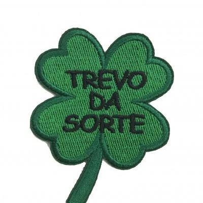 Emblema Trevo da sorte