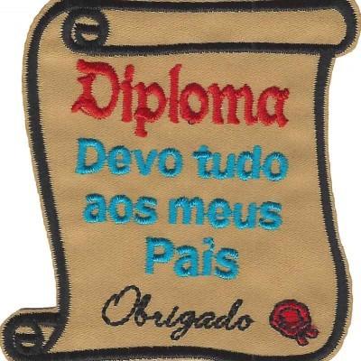 Emblema Diploma para os Pais