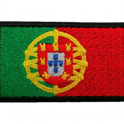 Emblema Bandeira Portugal 70x40mm