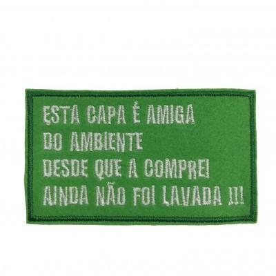 """Emblema """"Capa amiga do ambiente"""""""