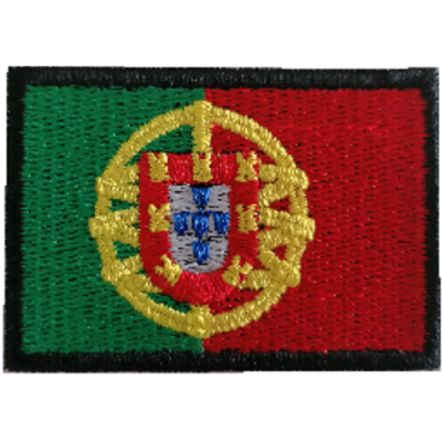 Emblema Bandeira Portugal 60x40mm