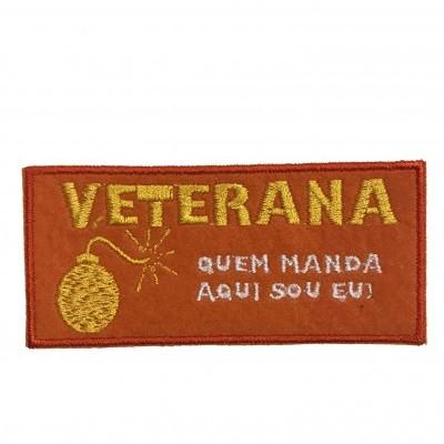 Emblema Veterana - quem manda aqui sou eu