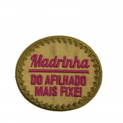 Emblema Madrinha - do afilhado mais fixe