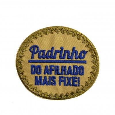 Emblema Padrinho - do afilhado mais fixe
