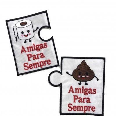 "Emblema ""Amigas para sempre"""