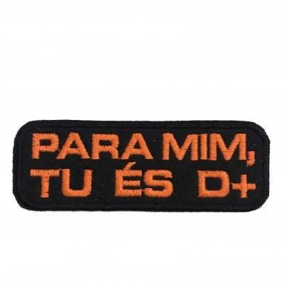"""Emblema """"És de +"""""""