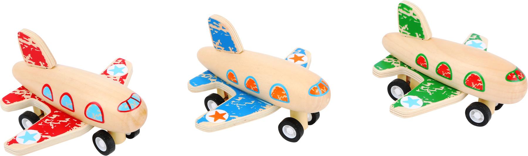 Avião Pull Back - Small Foot