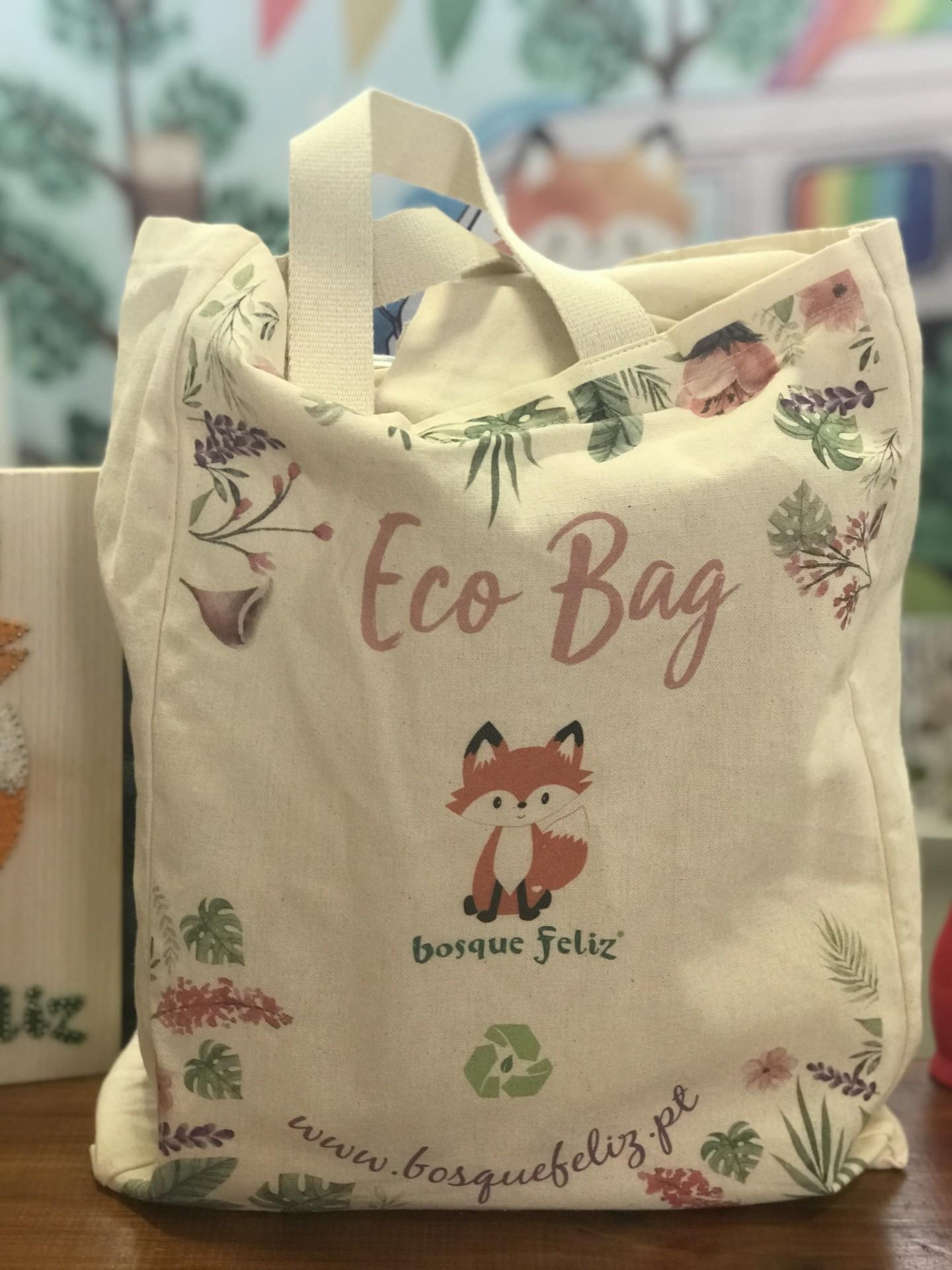 Ecobag Grande - Bosque Feliz