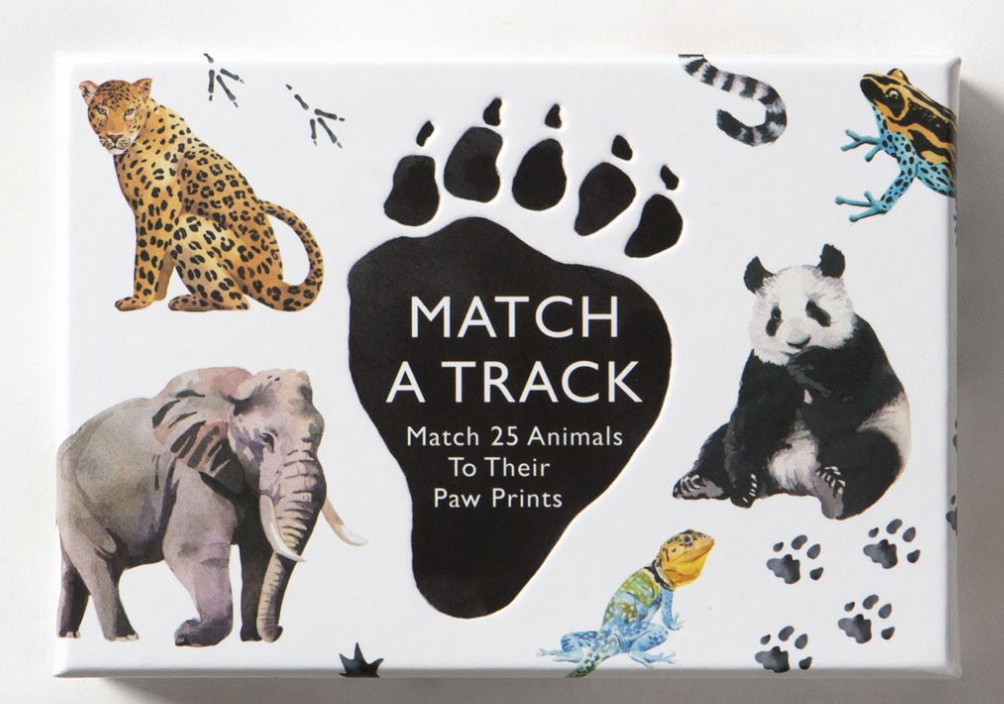 Match a Track | Associe a Pegada ao Animal