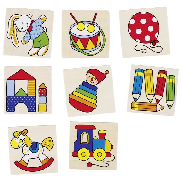 Jogo da Memória Brinquedos - Goki