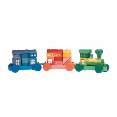 Comboio em Blocos Colorido - Ostheimer