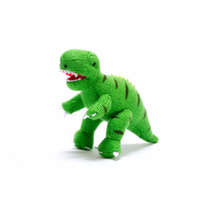 T-Rex Pequeno Roca de Tricô - Best Years