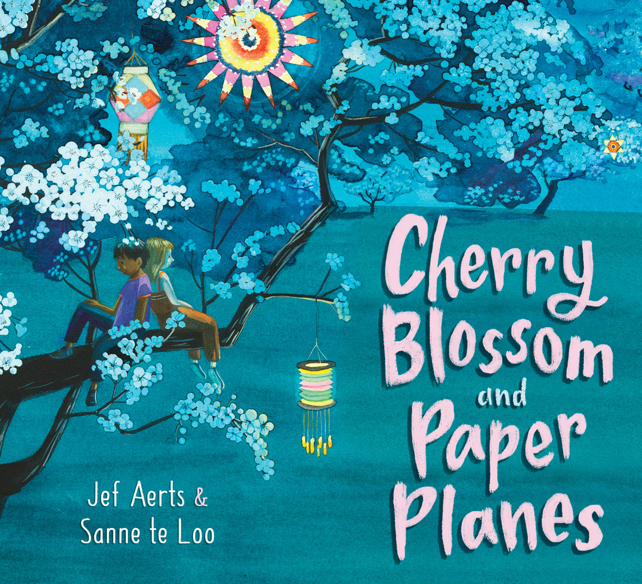 Cherry Blossom And Paper Planes - Floris Books