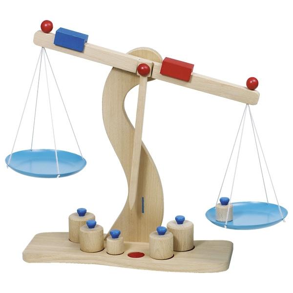 Balança de Pesar em madeira - Goki