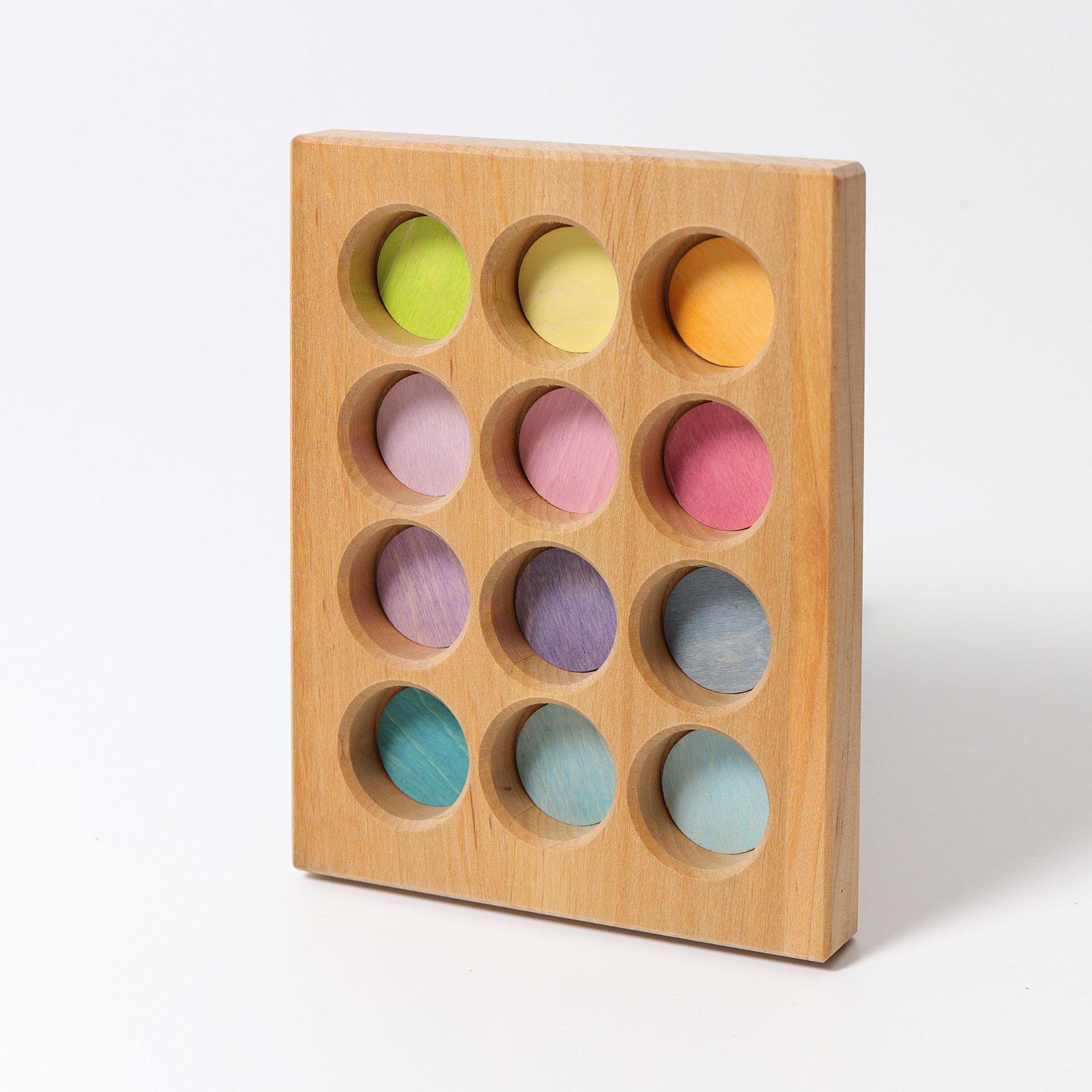 Quadro de Classificação Pastel - Grimm's