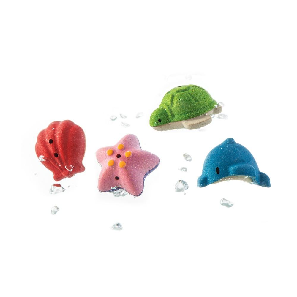 Set de Banho Vida Marinha - Plan Toys