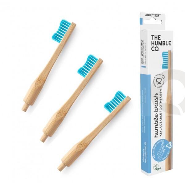 Escova de Dente Cabeça Substituível Adulto Suave | Humble Brush