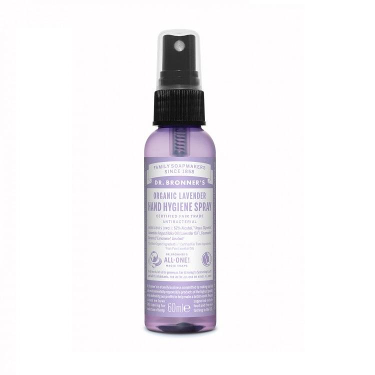 Spray Higienizador de Mãos de Alfazema - Dr. Bronner's