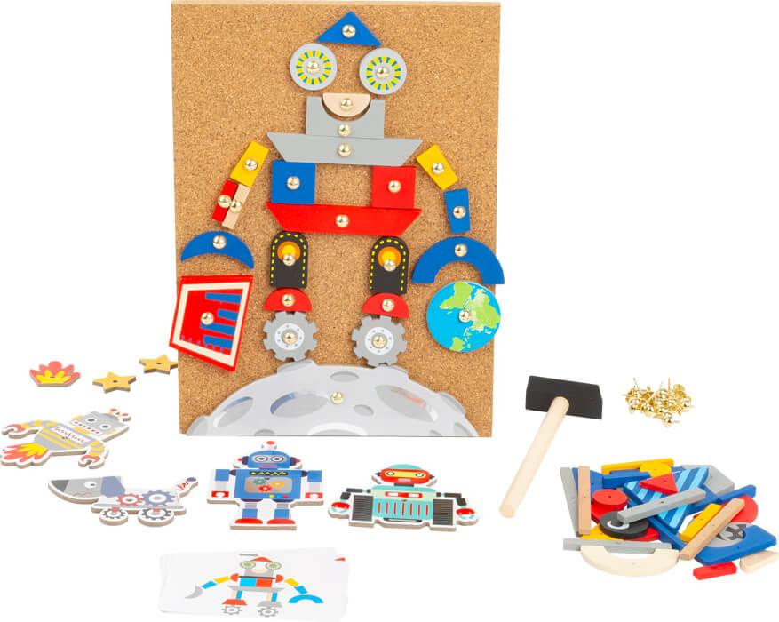 Robô Jogo de Pregar | SmallFoot
