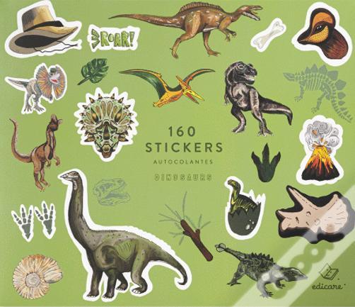 Dinossauros | Livro com 160 Autocolantes
