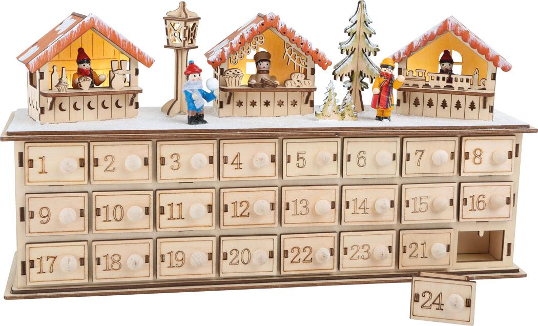 Mercado de Natal   Calendário de Advento de Natal