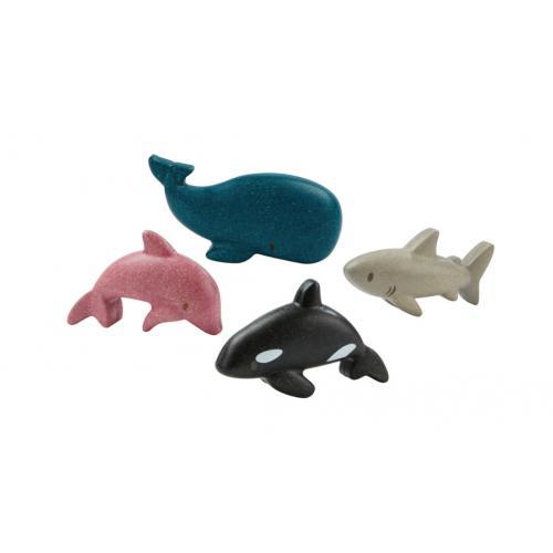 Conjunto de Animais Marinhos - Plan Toys
