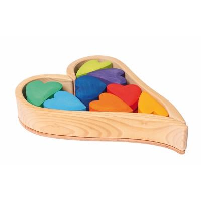 Corações Arco-Íris Set de construção - Grimm's