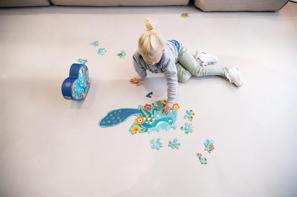 Puzzle do Pavão | 40 peças