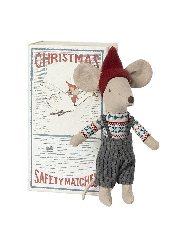 Ratinho de Natal em Caixa de Fósforos | Maileg