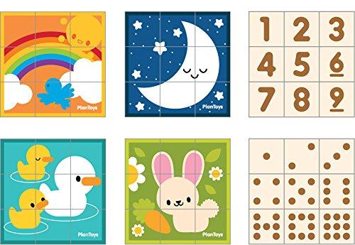 Puzzle De Cubos - Plan Toys