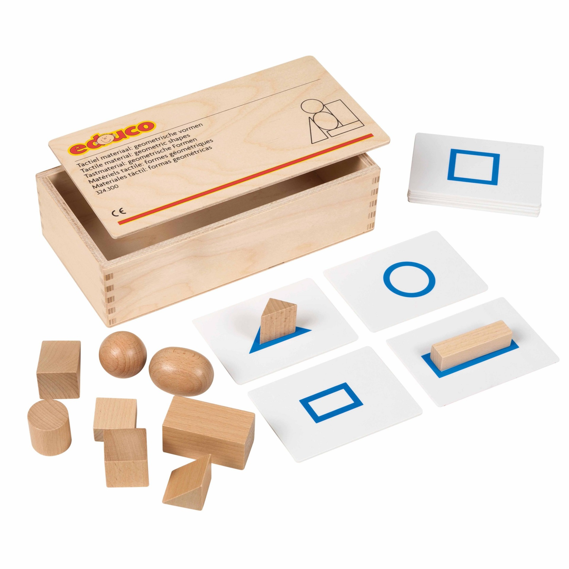 Sólidos Geométricos - Material Táctil