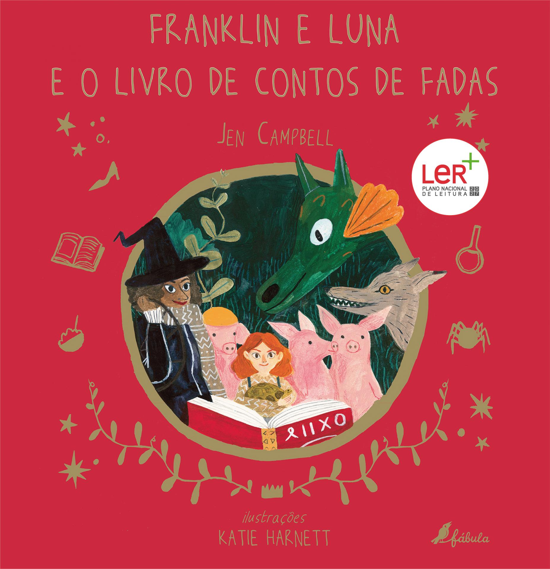 Franklin e Luna e o Livro de Contos de Fadas