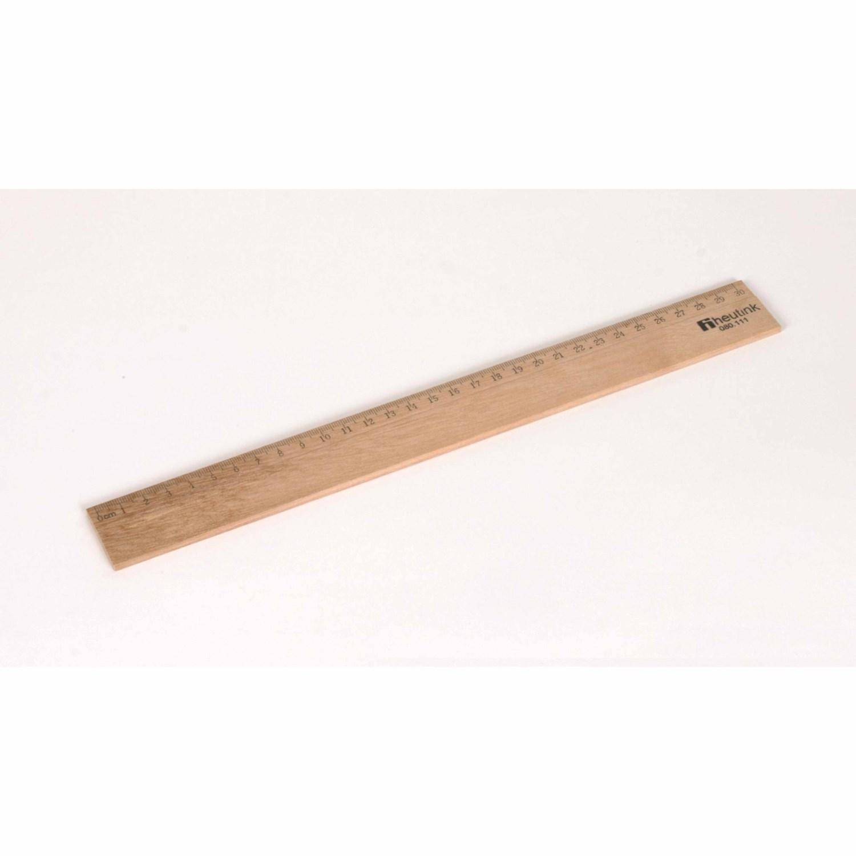 Régua de Madeira (30 cm) - Heutnik
