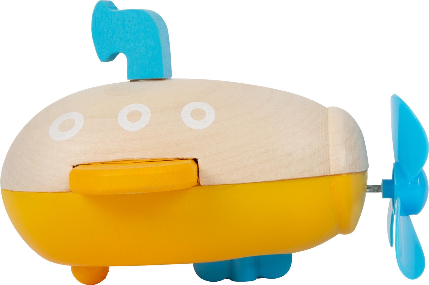 Submarino Amarelo de corda | Brinquedo de Água