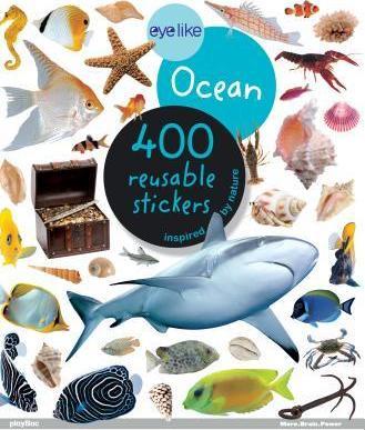 Oceano - Livro de Autocolantes Reutilizáveis