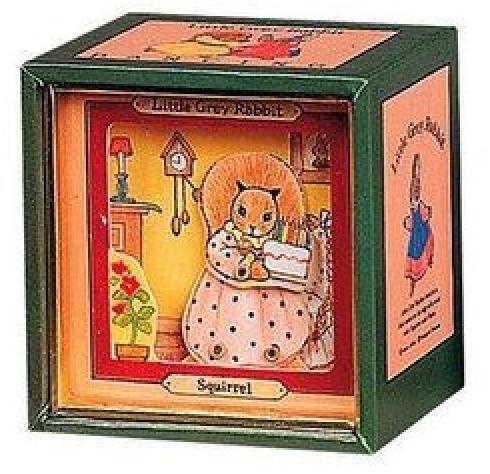 Mini Caixa Musical - Esquilo | Pedrito o Coelho