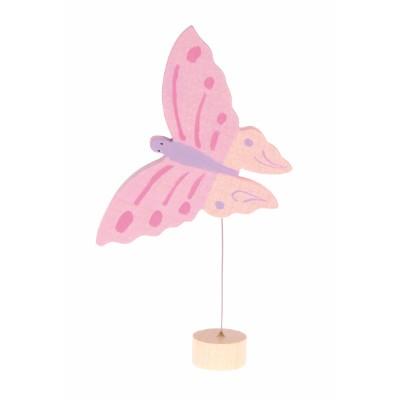 Borboleta Rosa figura decorativa - Grimm's