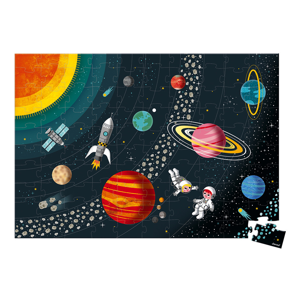 Puzzle Sistema Solar | 100 peças